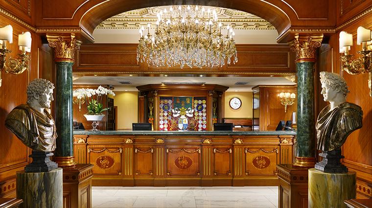 Property ParcodeiPrincipi Hotel PublicSpace Repception ParcodeiPrincipiGrandHotel&Spa