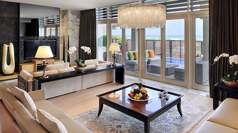 Property ParkHyattAbuDhabiHotelandVillas Hotel GuestroomSuite VillaLivingRoom HyattCorporation