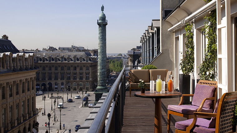 Property ParkHyattParis Hotel GuestroomSuite SuiteVendomeTerrasse HyattCorporation