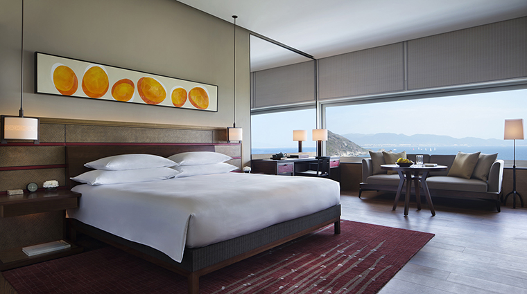 Property ParkHyattSanyaSunnyBay Hotel GuestroomSuite PremiumOceanViewRoom HyattCorporation