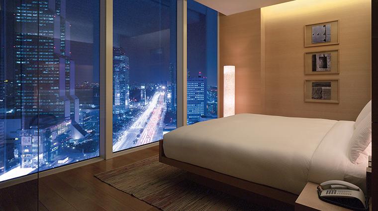 Property ParkHyattSeoul Hotel GuestroomSuite ParkSuiteBedroom HyattCorporation