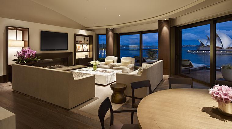 Property ParkHyattSydney Hotel GuestroomSuite SydneySuiteLounge HyattCorporation