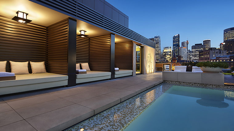 Property ParkHyattSydney Hotel PublicSpaces RooftopPool HyattCorporation