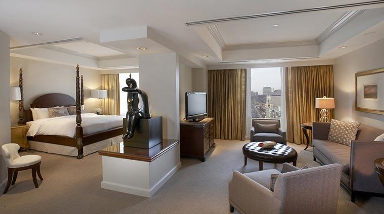 Property ParkHyattToronto Hotel GuestroomSuites AlgonquinBedroom CreditHyattCorporation