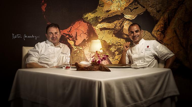 Property PassionbyMartinBerasategui Restaurant Dining ChefMartinBerasategui&ChefMaximilianoSola MeliaHotelsInternational