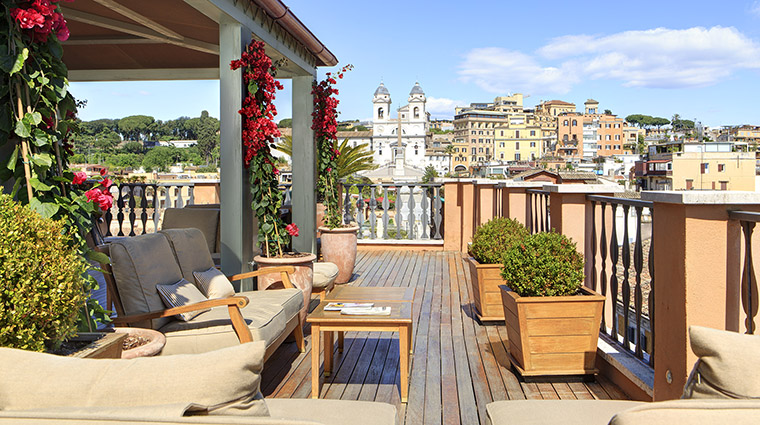 Property PortraitRoma Hotel PublicSpaces RooftopTerrace2 LungarnoAlberghiSrl