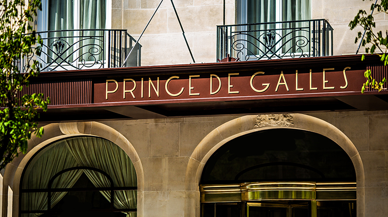 Property PrincedeGalles Hotel Exterior ExteriorSignage StarwoodHotels&ResortsWorldwideInc