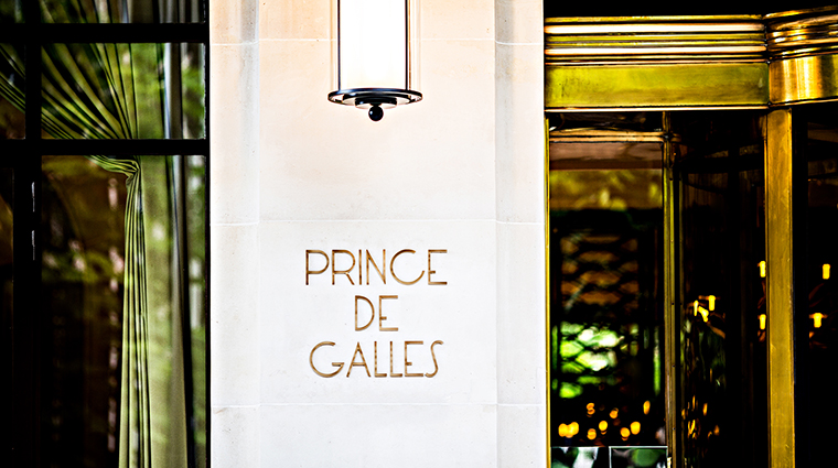 Prince De Galles A Luxury Collection Hotel