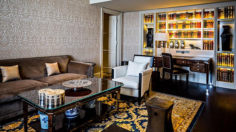 Property PrincedeGalles Hotel GuestroomSuite PrincedeGallesSuiteSaphirLivingRoom StarwoodHotels&ResortsWorldwideInc
