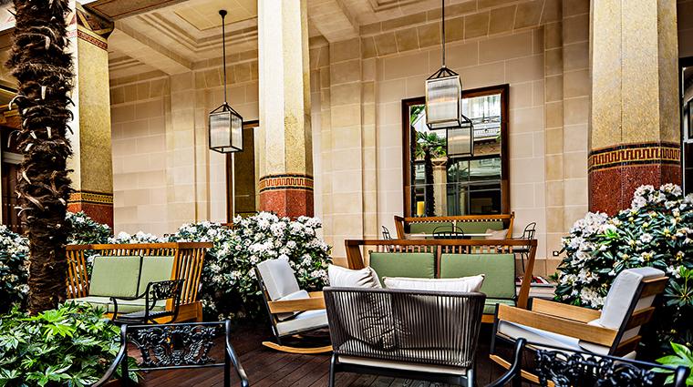 Property PrincedeGalles Hotel PublicSpaces Patio StarwoodHotels&ResortsWorldwideInc