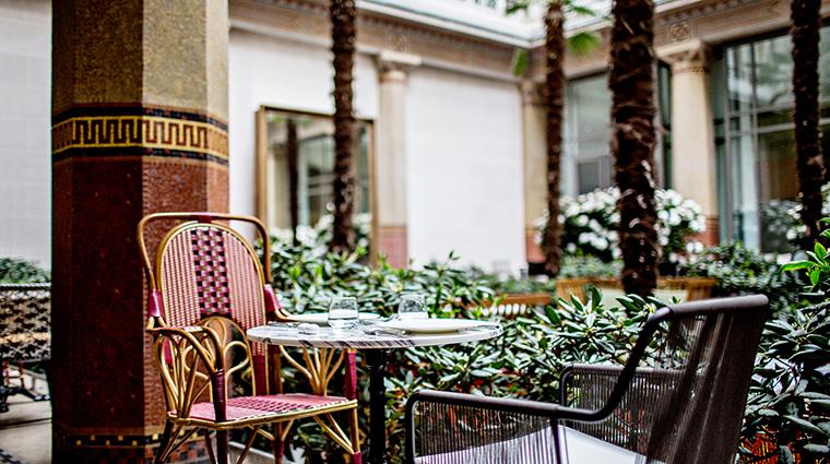 Property PrincedeGalles Hotel PublicSpaces Patio2 StarwoodHotels&ResortsWorldwideInc