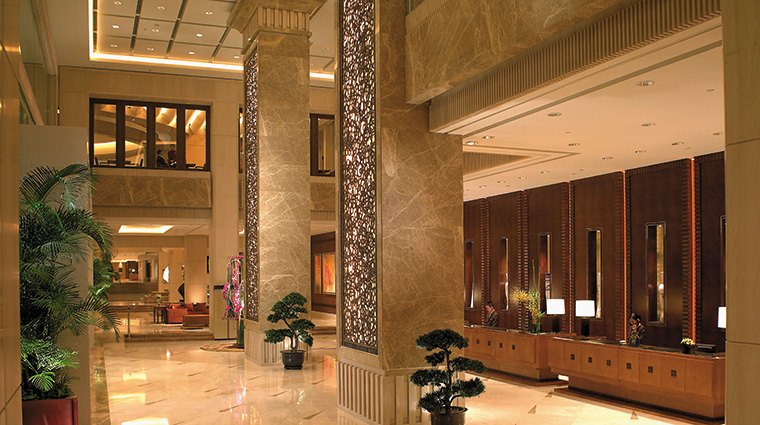 Property PudongShangri LaShanghaiGrandTower Hotel PublicSpaces Lobby CreditShangriLaInternationalHotelManagementLtd