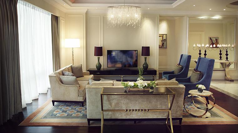 Property RafflesMakati Hotel GuestroomSuite PresidentialSuiteLivingRoom FRHI