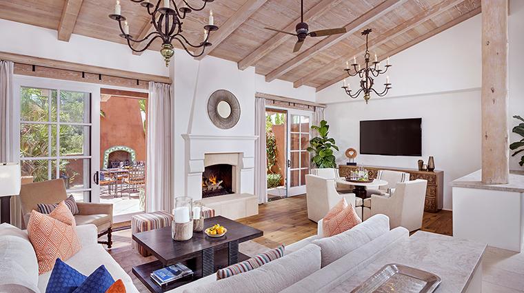 Property RanchoValenciaResort&Spa Hotel GuestroomSuite VillaLivingRoom RanchoValenciaResort&Spa