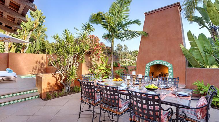 Property RanchoValenciaResort&Spa Hotel GuestroomSuite VillaPatioDining RanchoValenciaResort&Spa