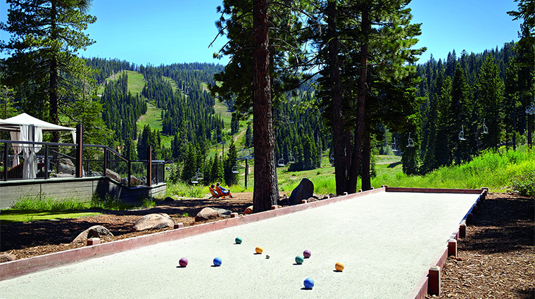 Property RitzCarltonLakeTahoe Hotel Activity Game RitzCarlton