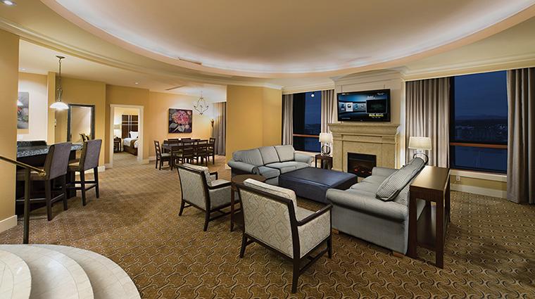 Property RiverRockCasinoResort Hotel GuestroomSuite Penthouse1BedroomLivingRoom GreatCanadianGamingCorporation