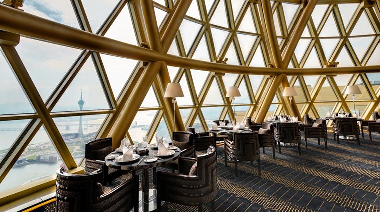 Property RobuchonauDomeatTheGrandLisboa Hotel 1 Style Diningroom CreditLisboaHotelsComplex