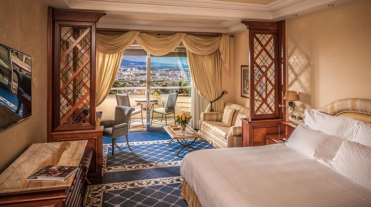 Property RomeCavalieri Hotel GuestroomSuite KingDeluxeRoom HiltonWorldwide