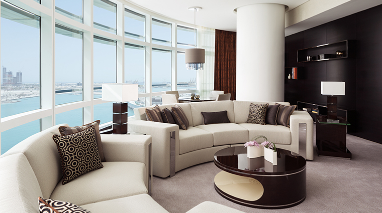 Property RosewoodAbuDhabi Hotel GuestroomSuite ExecutiveSuiteLivingRoom RosewoodHotelsandResortsLLC