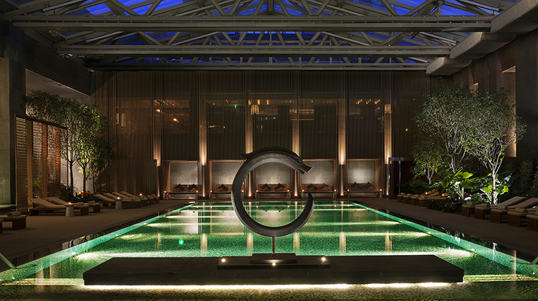 Property RosewoodBeijing Hotel PublicSpaces SwimmingPoolTwilight RosewoodHotelsandResortsLLC