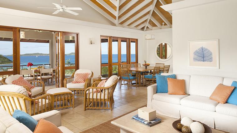 Property RosewoodLittleDixBay Hotel GuestroomSuite VillaLivingRoom RosewoodHotelsandResortsLLC