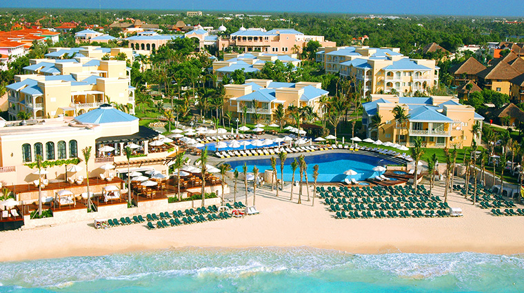 Property RoyalHideawayPlayacar Hotel Exterior AerialViewofResort BarceloHotels&Resorts
