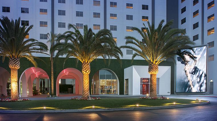 Property SLSLasVegas Hotel Exterior ParadiseEntrance SBEHotelLicensingLLC
