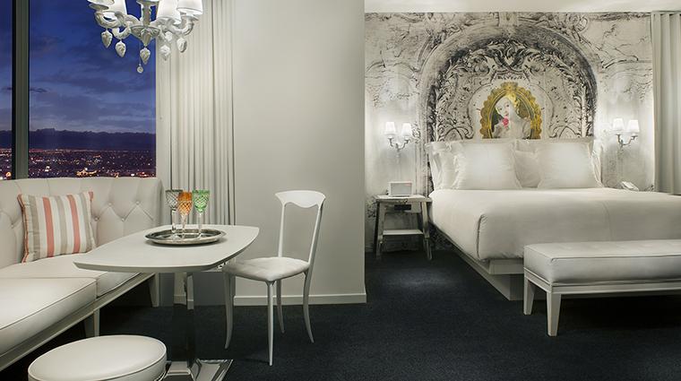 Property SLSLasVegas Hotel GuestroomSuite LUXTowerRoom2 SBEHotelLicensingLLC