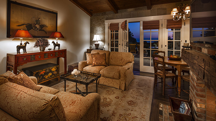 Property SanYsidroRanch Hotel GuestroomSuite KennedyCottageLivingRoom SanYsidroRanch