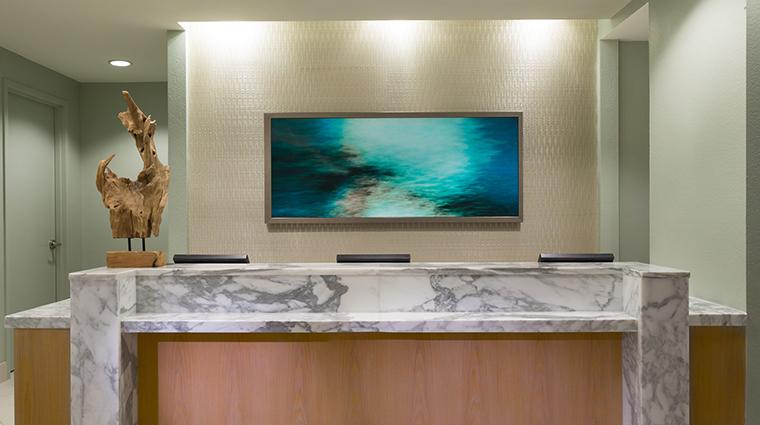 Property SerenityByTheSeaSpa Spa FrontCounter HiltonWorldwide