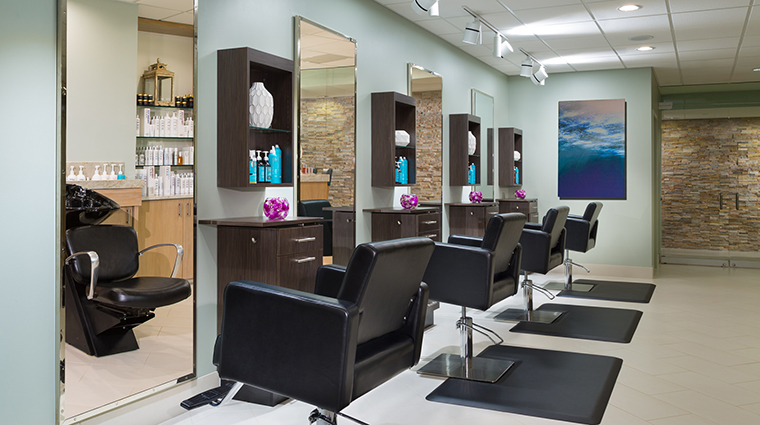 Property SerenityByTheSeaSpa Spa HairSalon HiltonWorldwide