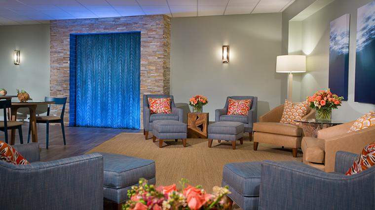 Property SerenityByTheSeaSpa Spa LoungeArea HiltonWorldwide