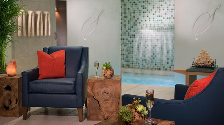 Property SerenityByTheSeaSpa Spa WomensLounge HiltonWorldwide