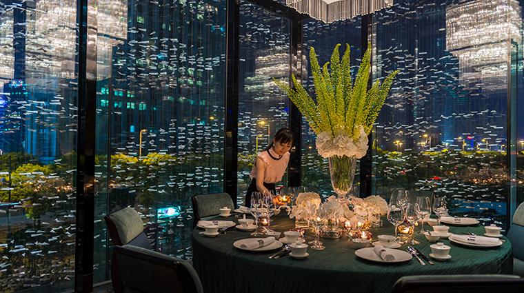 Property ShangXi 2 Restaurant Style PrivateDiningRoom CreditKenSeet FourSeasons