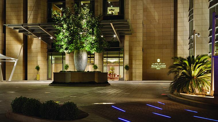 Property ShangriLaHotelDoha Hotel Exterior Entrance ShangriLaInternationalHotelManagementLtd