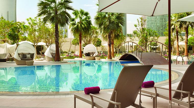 Property ShangriLaHotelDoha Hotel PublicSpaces MainPool ShangriLaInternationalHotelManagementLtd
