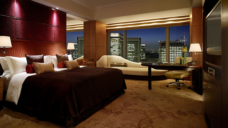 Property ShangriLaHotelTokyo Hotel GuestroomSuite DeluxeImperialGardenViewRoom ShangriLaInternationalHotelManagementLtd