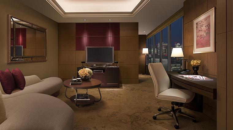 Property ShangriLaHotelTokyo Hotel GuestroomSuite ExecutiveSuite ShangriLaInternationalHotelManagementLtd