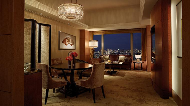 Property ShangriLaHotelTokyo Hotel GuestroomSuite PremierSuite ShangriLaInternationalHotelManagementLtd