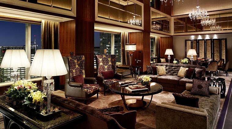 Property ShangriLaHotelTokyo Hotel GuestroomSuite PresidentialSuiteLivingRoom ShangriLaInternationalHotelManagementLtd