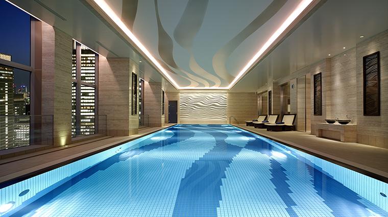 Property ShangriLaHotelTokyo Hotel PublicSpaces SwimmingPool ShangriLaInternationalHotelManagementLtd
