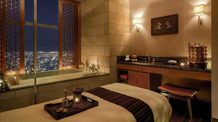 Property ShangriLaHotelTokyo Hotel Spa TreatmentRoom ShangriLaInternationalHotelManagementLtd