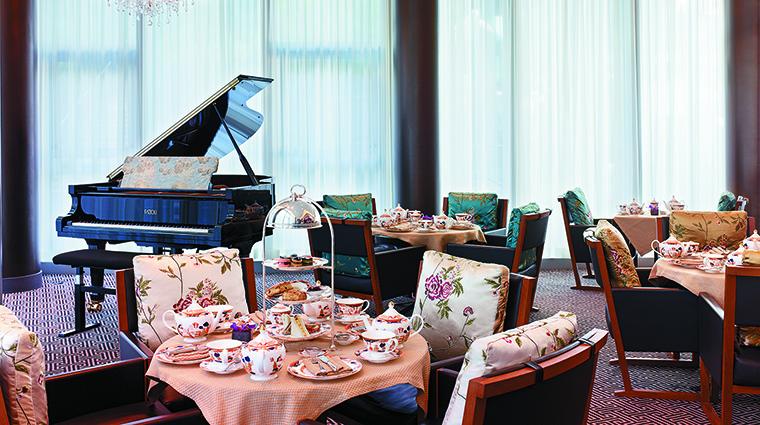 Property ShangriLaHotelVancouver Hotel BarLounge AfternoonTeaatXiShiLounge ShangriLaInternationalHotelManagementLtd