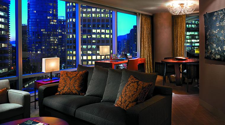 Property ShangriLaHotelVancouver Hotel GuestroomSuite DeluxeOneBedroomSuite ShangriLaInternationalHotelManagementLtd