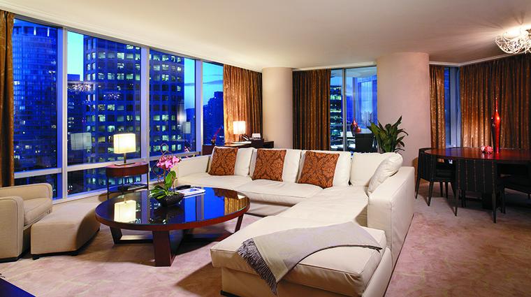 Property ShangriLaHotelVancouver Hotel GuestroomSuite OrchidSuite ShangriLaInternationalHotelManagementLtd