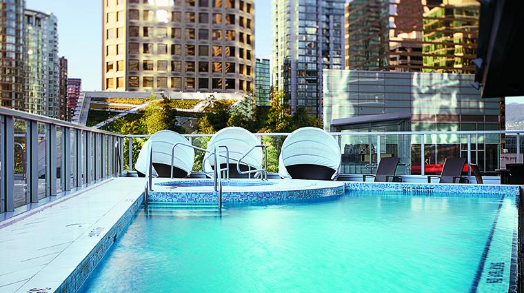 Property ShangriLaHotelVancouver Hotel PublicSpaces OutdoorPool ShangriLaInternationalHotelManagementLtd