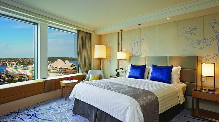 Property ShangriLaSydney Hotel GuestroomSuite HorizonClubGrandHarbourViewRoom ShangriLaInternationalHotelManagementLtd