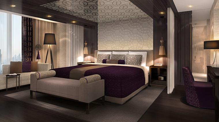 Property SheratonGrandDubai Hotel GuestroomSuite PresidentialSuiteBedroom MarriottInternationalInc