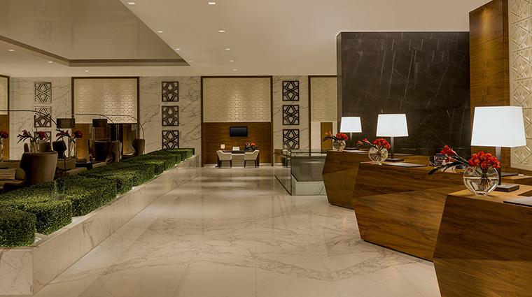 Property SheratonGrandDubai Hotel PublicSpaces LobbyReception MarriottInternationalInc
